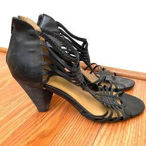 Seychelles size 11 Black Heels